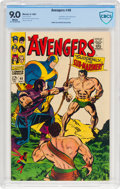 Silver Age (1956-1969):Superhero, The Avengers #40 (Marvel, 1967) CBCS VF/NM 9.0 White pages....