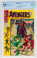 Silver Age (1956-1969):Superhero, The Avengers #47 (Marvel, 1967) CBCS NM+ 9.6 White pages....
