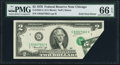 Error Notes:Foldovers, Fr. 1935-G $2 1976 Federal Reserve Note. PMG Gem Uncirculated 66EPQ.. ...