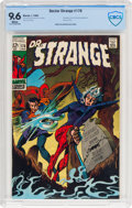 Silver Age (1956-1969):Superhero, Doctor Strange #176 (Marvel, 1969) CBCS NM+ 9.6 White pages....