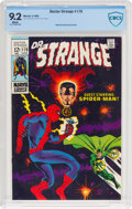 Silver Age (1956-1969):Superhero, Doctor Strange #179 (Marvel, 1969) CBCS NM- 9.2 White pages....