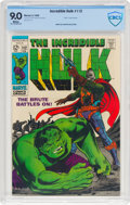 Silver Age (1956-1969):Superhero, The Incredible Hulk #112 (Marvel, 1969) CBCS VF/NM 9.0 Whitepages....