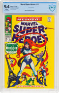 Silver Age (1956-1969):Superhero, Marvel Super-Heroes #15 (Marvel, 1968) CBCS NM 9.4 White pages....