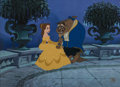 Animation Art:Limited Edition Cel, Beauty and the Beast - On the Terrace Limited Edition Cel #131/500 (Walt Disney, 1992). ...