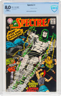 Silver Age (1956-1969):Superhero, The Spectre #1 (DC, 1967) CBCS VF 8.0 White pages....