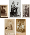 Photography:Studio Portraits, Images (5) of African-American Sideshow Performers. ...