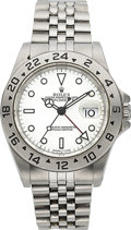 Timepieces:Wristwatch, Rolex Ref. 16570 Steel Explorer II, circa 1997. ...