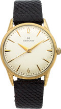 Timepieces:Wristwatch, Hamilton, Storm King VI, 10K Yellow Goldfilled and Stainle...