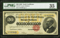 Large Size:Gold Certificates, Fr. 1178 $20 1882 Gold Certificate PMG Choice Very Fine 35.. ...