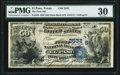 National Bank Notes:Texas, El Paso, TX - $50 1882 Date Back Fr. 563 The First NB Ch. # (S)2532 PMG Very Fine 30.. ...