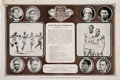 Photography:Official Photos, Group of Summer Olympics Related Items (3)....