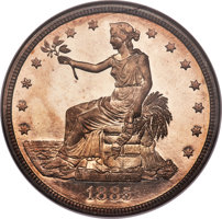 Featured item image of 1885 T$1 PR66 NGC....