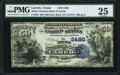 National Bank Notes:Texas, Laredo, TX - $50 1882 Date Back Fr. 563 The Milmo NB Ch. # (S)2486 PMG Very Fine 25.. ...
