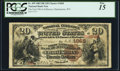 National Bank Notes:West Virginia, Charles Town, WV - $20 1882 Brown Back Fr. 499 The First NB ofJefferson Ch. # 1868 PCGS Fine 15.. ...