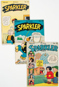 Golden Age (1938-1955):Miscellaneous, Sparkler Comics Group of 10 (United Feature Syndicate, 1944-46) Condition: Average FN/VF.... (Total: 10 Comic Books)