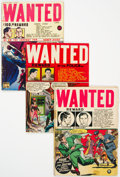 Golden Age (1938-1955):Crime, Wanted Comics Group of 7 (Toytown, 1947-51) Condition: Average GD/VG.... (Total: 7 Comic Books)