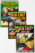 Bronze Age (1970-1979):Western, Kid Colt Outlaw Group of 40 (Marvel, 1969-79) Condition: Average VF-.... (Total: 40 Comic Books)