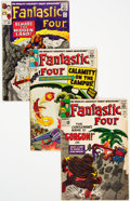 Silver Age (1956-1969):Superhero, Fantastic Four Group of 54 (Marvel, 1964-76) Condition: Average VG.... (Total: 54 Items)