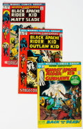 Bronze Age (1970-1979):Western, Western Gunfighters Group of 23 (Marvel, 1970-74) Condition: Average FN/VF.... (Total: 23 Comic Books)