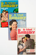 Golden Age (1938-1955):Romance, Hi-School Romance Group of 68 (Harvey, 1949-63) Condition: AverageVF+.... (Total: 68 Comic Books)
