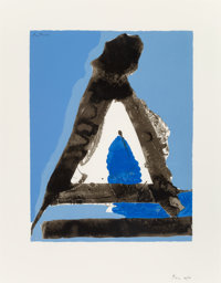 Robert Motherwell (1915-1991) Untitled, from The Basque Suite, 1971 Screenprint in colors