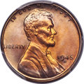 Lincoln Cents, 1945-D 1C MS68 Red PCGS....