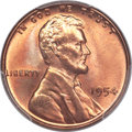 Lincoln Cents, 1954 1C MS67 Red PCGS....