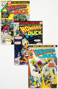 Howard the Duck Group of 48 (Marvel, 1975-78) Condition: Average VF.... (Total: 48 Comic Books)
