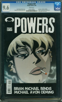 Powers #37 (Image-Wizard Publications, 2004) CGC NM+ 9.6 WHITE pages