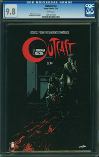 Outcast #2 (Image/Skybound, 2014) CGC NM/MT 9.8 WHITE pages
