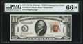 Small Size:World War II Emergency Notes, Fr. 2303 $10 1934A Hawaii Federal Reserve Note. PMG Gem Uncirculated 66 EPQ*.. ...
