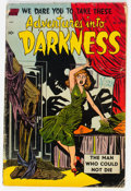 Golden Age (1938-1955):Horror, Adventures Into Darkness #10 (Standard, 1953) Condition: GD+....