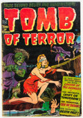 Golden Age (1938-1955):Horror, Tomb of Terror #3 (Harvey, 1952) Condition: GD....