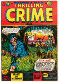 Golden Age (1938-1955):Crime, Thrilling Crime Cases #45 (Star Publications, 1951) Condition: FN/VF....