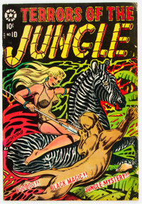Terrors of the Jungle #10 (Star Publications, 1954) Condition: VG+