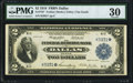 Large Size:Federal Reserve Bank Notes, Fr. 776* $2 1918 Federal Reserve Bank Note PMG Very Fine 30.. ...