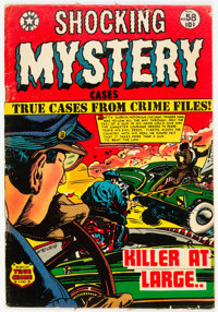 Shocking Mystery Cases #58 (Star Publications, 1954) Condition: FN-