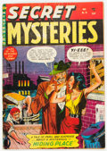 Golden Age (1938-1955):Horror, Secret Mysteries #16 (Ribage Publishing, 1954) Condition: VG....