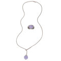 Estate Jewelry:Lots, Lavender Jadeite Jade, Diamond, Colored Diamond, White Gold Jewelry. ...