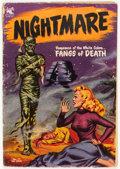 Golden Age (1938-1955):Horror, Nightmare #11 (St. John, 1954) Condition: GD....