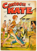 Golden Age (1938-1955):Humor, Canteen Kate #3 (St. John, 1952) Condition: GD/VG....
