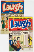 Golden Age (1938-1955):Humor, Laugh Comics #39 and 46 Group (Archie, 1950-51).... (Total: 2 Comic Books)