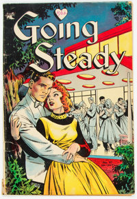 Going Steady #10 (St. John, 1954) Condition: VG