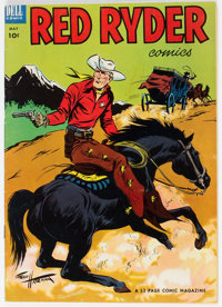 Red Ryder Comics #118 Mile High Pedigree (Dell, 1953) Condition: VF-