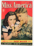 Golden Age (1938-1955):Romance, Miss America Magazine V7#14 (Miss America Publishing, 1948)Condition: FN....