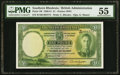 World Currency, Southern Rhodesia Southern Rhodesia Currency Board 1 Pound 1.9.1951 Pick 10f PMG About Uncirculated 55.. ...