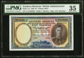 World Currency, Southern Rhodesia Southern Rhodesia Currency Board 5 Pounds 10.1.1950 Pick 11e PMG Choice Very Fine 35.. ...