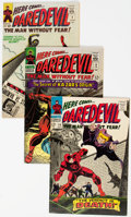 Silver Age (1956-1969):Superhero, Daredevil Group of 33 (Marvel, 1965-82) Condition: Average FN....(Total: 33 Items)