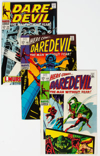 Daredevil Group of 25 (Marvel, 1968-79) Condition: Average VF/NM.... (Total: 25 Items)