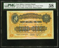 East Africa East African Currency Board 20 Shillings = £1 1.8.1942 Pick 30A PMG Choice About Unc 58.<